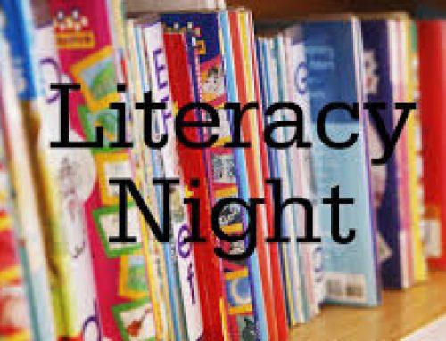 FAMILY LITERACY NIGHT / NOCHE DE LITERATURA